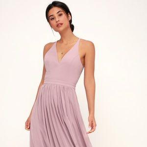 Lulus Everlasting Beauty Lace Maxi Dress